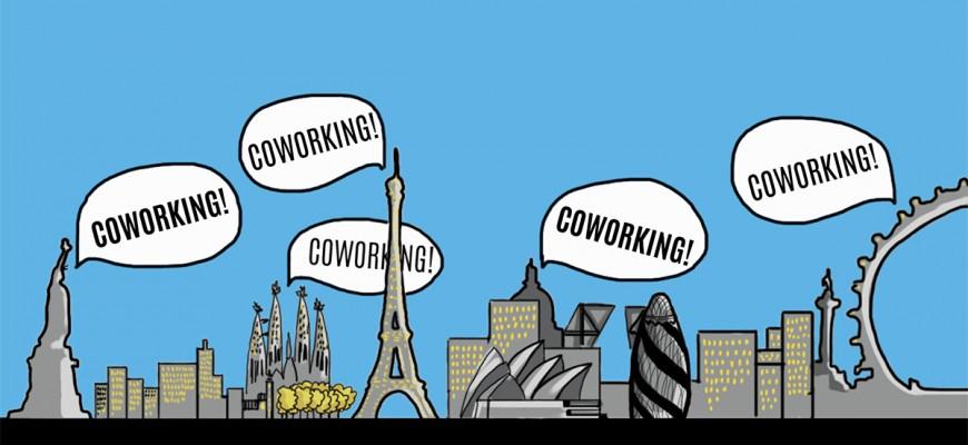 #Coworking skyline ;)