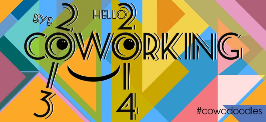Say bye. Say hello. Play #coworking :) Happy New Year!
