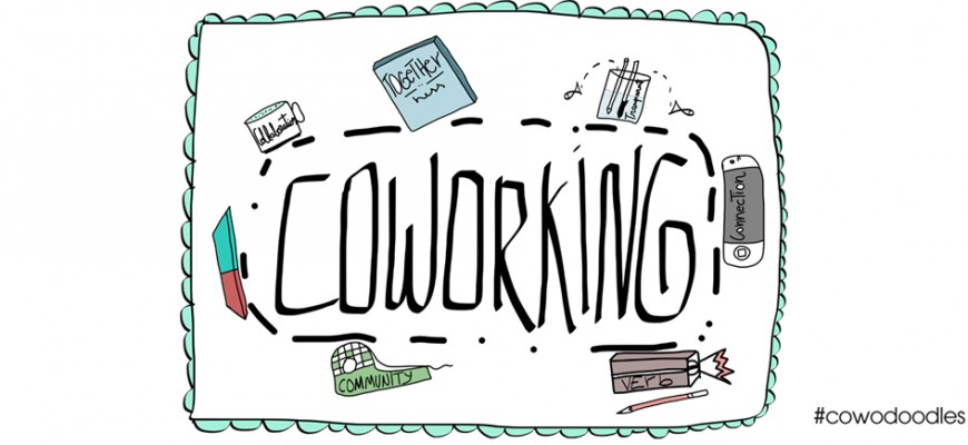 """#Coworking inspires me"" by Priscilla"